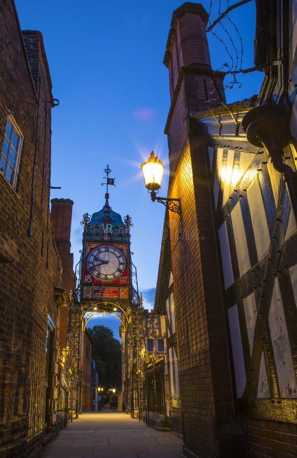 Eastgateklok in Chester royalty-vrije stock foto