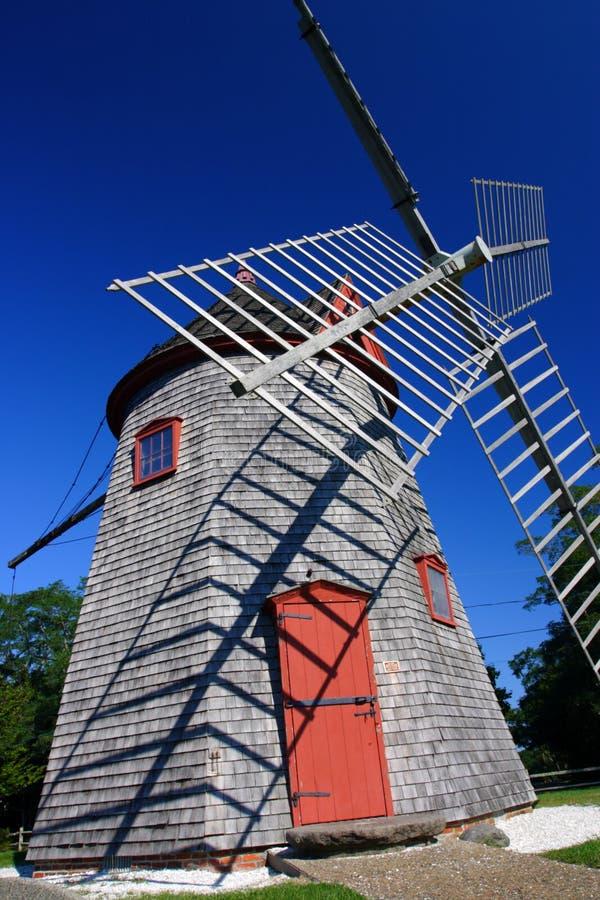 Eastham Windmill Cape Cod, Massachusetts, USA.  royalty free stock image