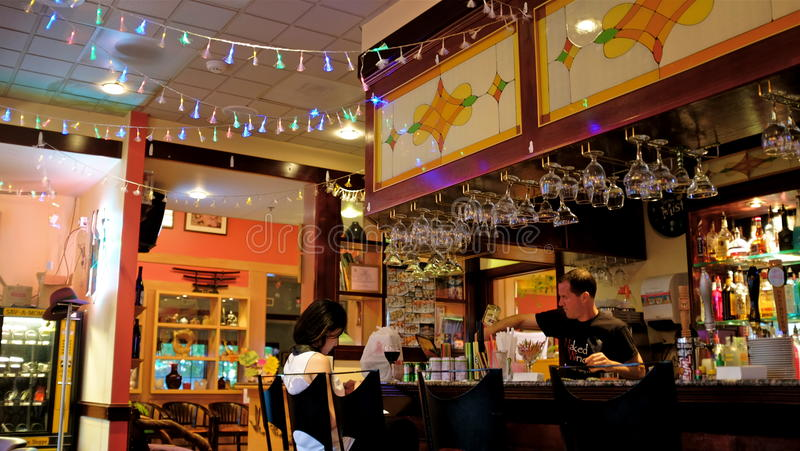 Eastland suszi bar w Vancouver fotografia royalty free