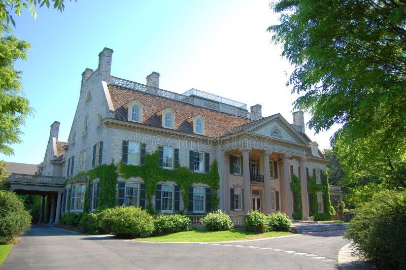 eastman george hus $rochester royaltyfri bild