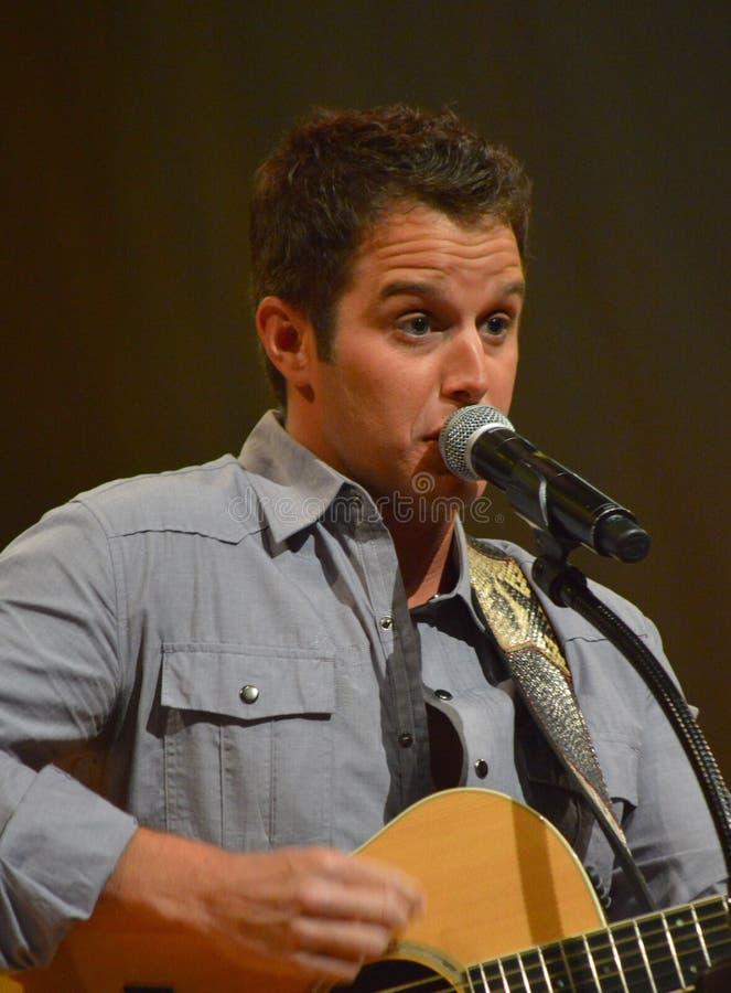 Easton Corbin at the Grand Ole Opry stock photo