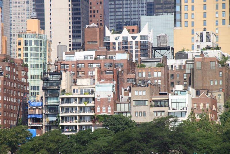 Eastside Manhattan stockfotos
