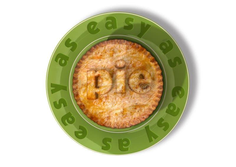 Download Easy As Pie stock illustration. Illustration of straightforward - 25668005