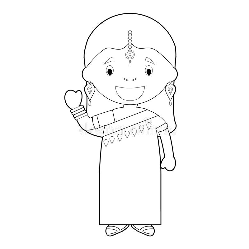 Personnages - Indian Classical Dance Clipart - Free Transparent PNG Clipart  Images Download