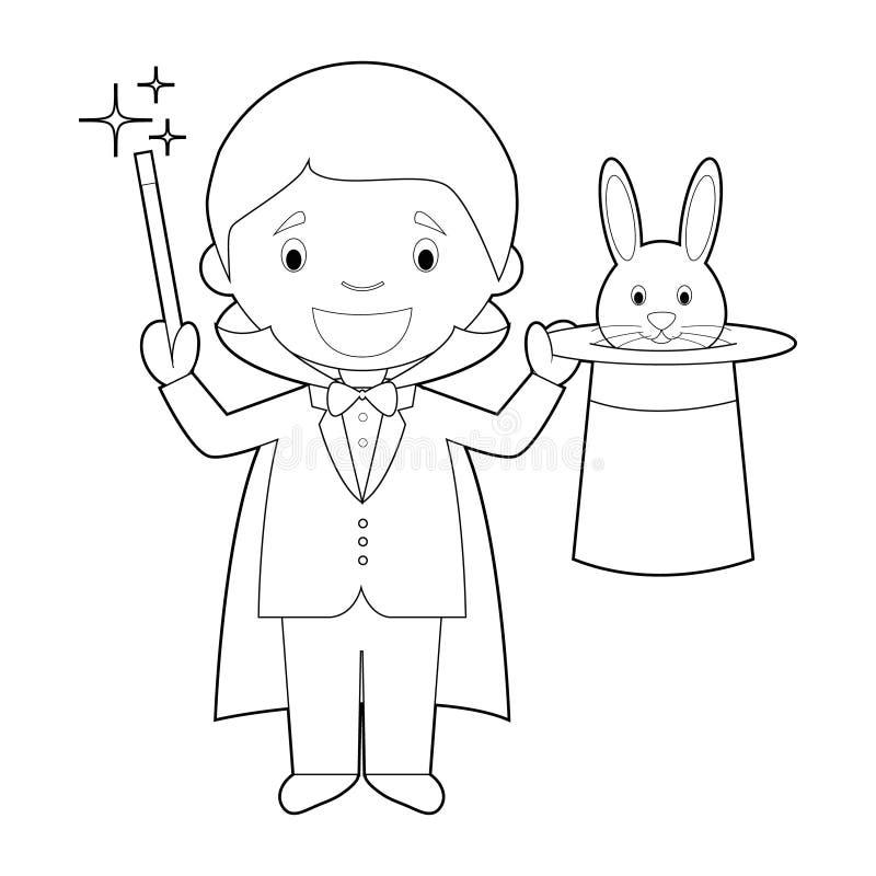 Cartoon Magician Stock Illustrations 13229 Cartoon