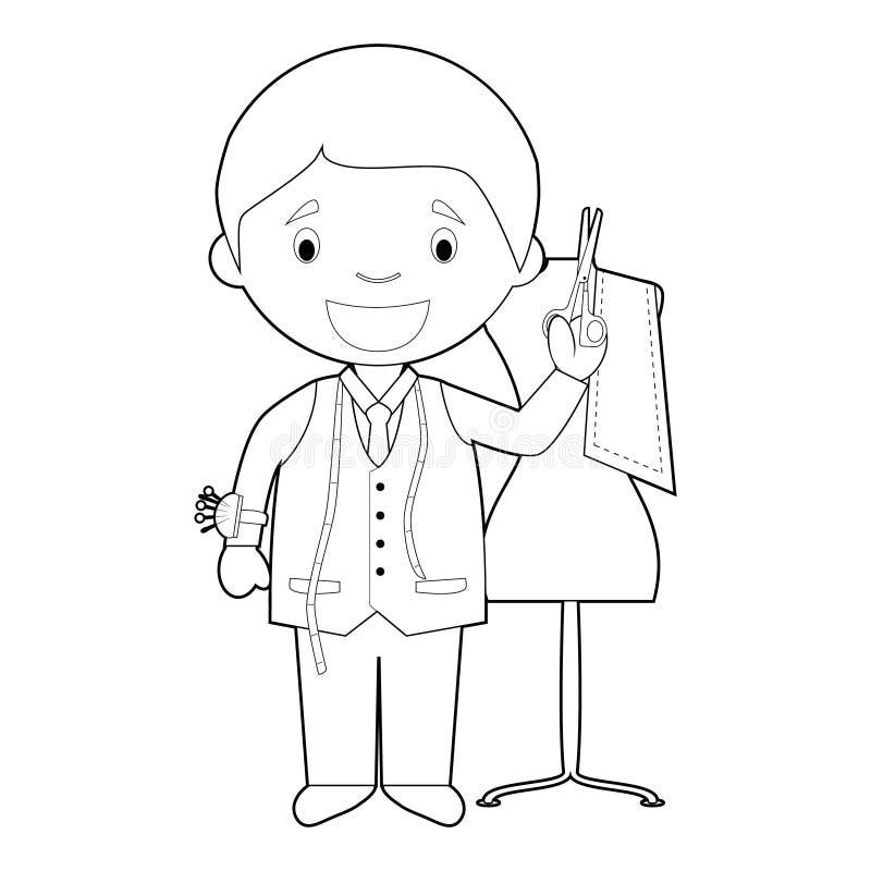 Get Tailor Cartoon Drawing Gif