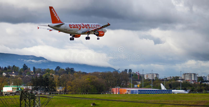 Download Easy Jet Plane editorial stock photo. Image of business - 24446868