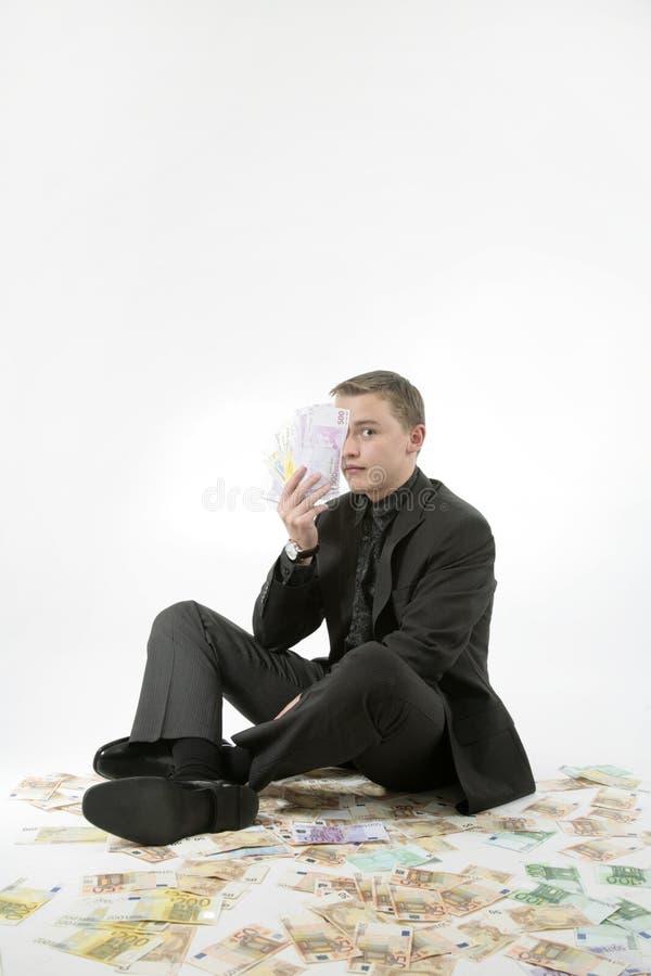 Easy money stock photography