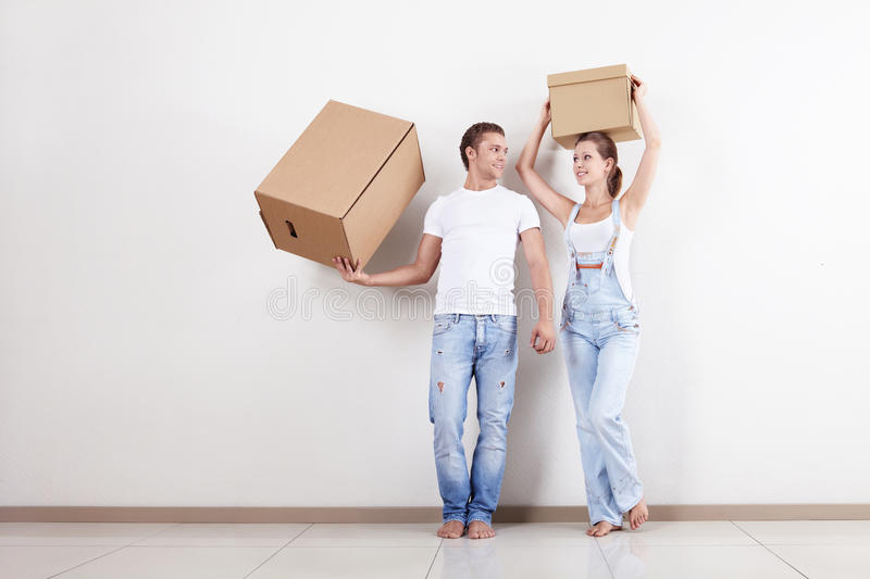 Easy Moving stock photography