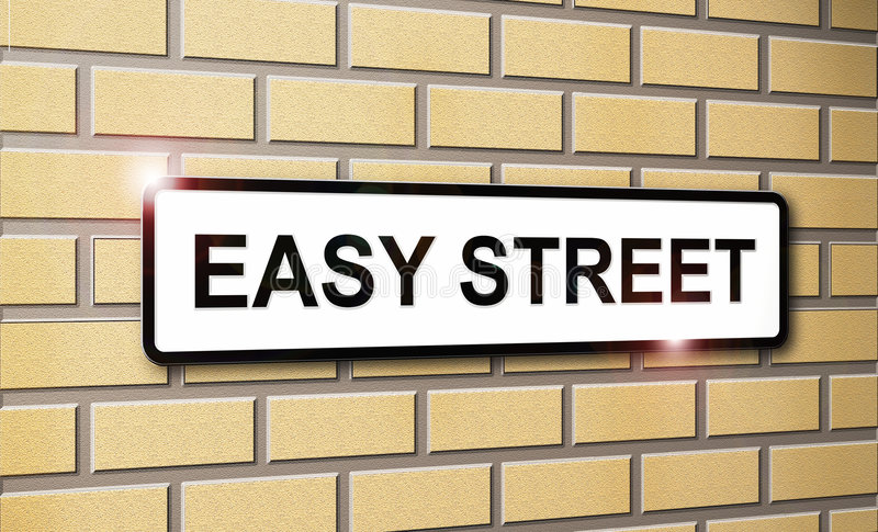 Easy Street stock images