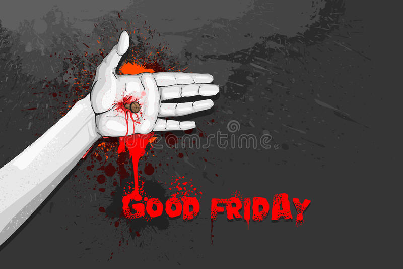 Good Friday stock illustration