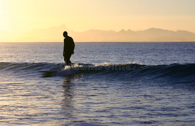 Download Easygoing surfer stock image. Image of background, pacific - 3715637