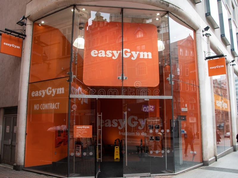 EasyGym健身房伯明翰 免版税库存照片