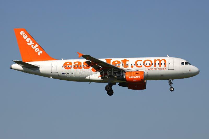 EasyJet Airbus A319-100 photo libre de droits