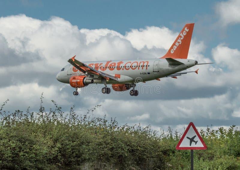 Easyjet Airbus A319 photo stock