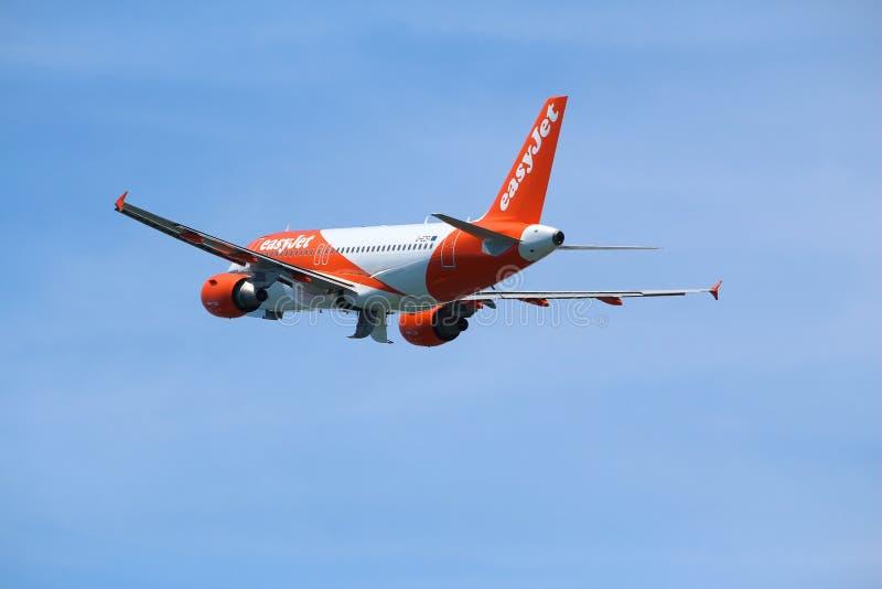 Easyjet Airbus photographie stock libre de droits