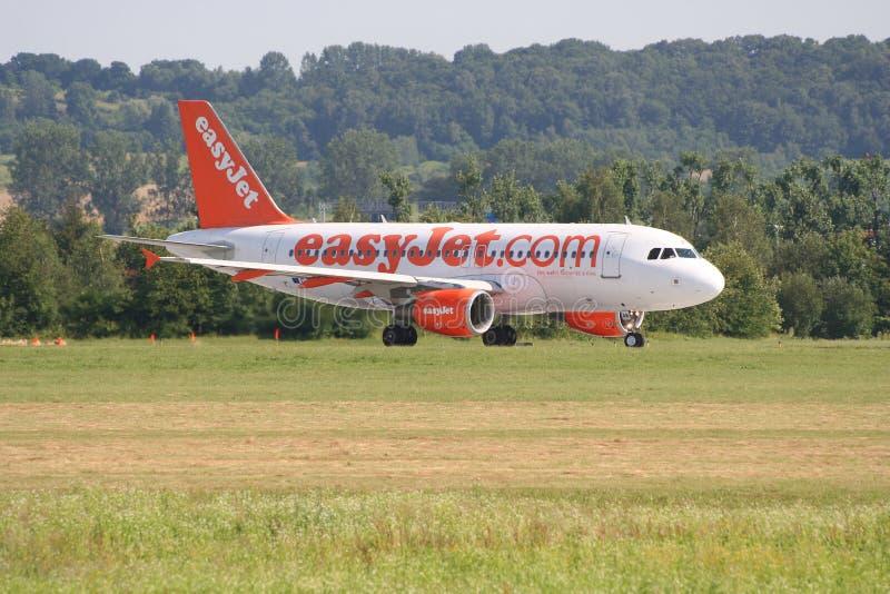 Easyjet Airbus A319 image libre de droits