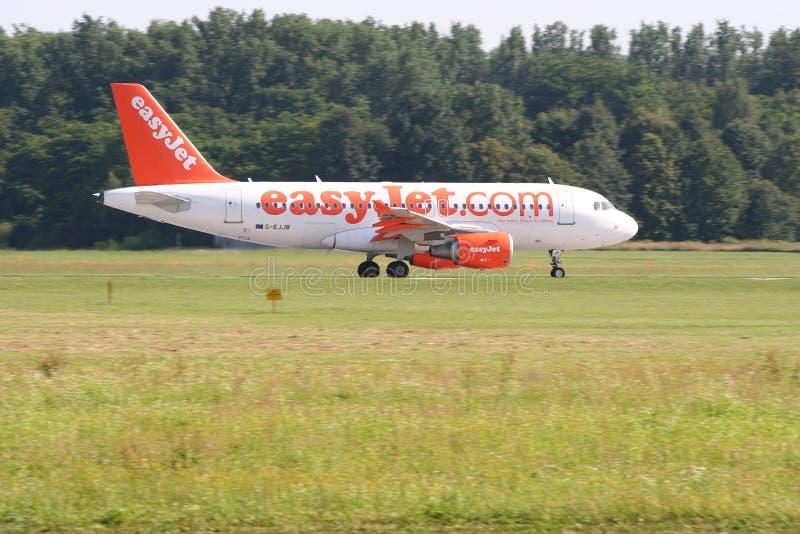 Easyjet Airbus A319 photo libre de droits