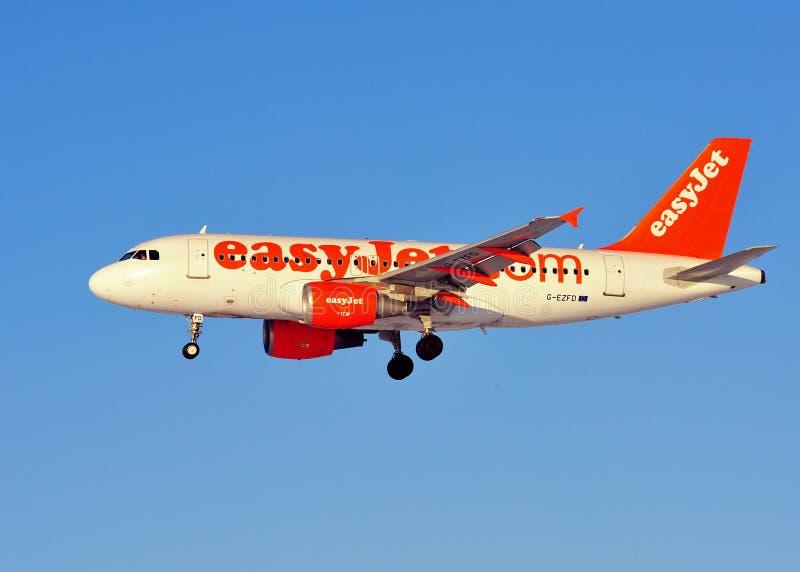 Easyjet Airbus A319 photographie stock libre de droits