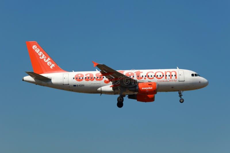 EasyJet Airbus A319 fotos de archivo