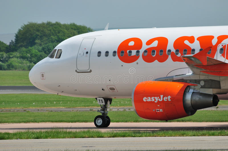Easyjet Airbus A320 photographie stock