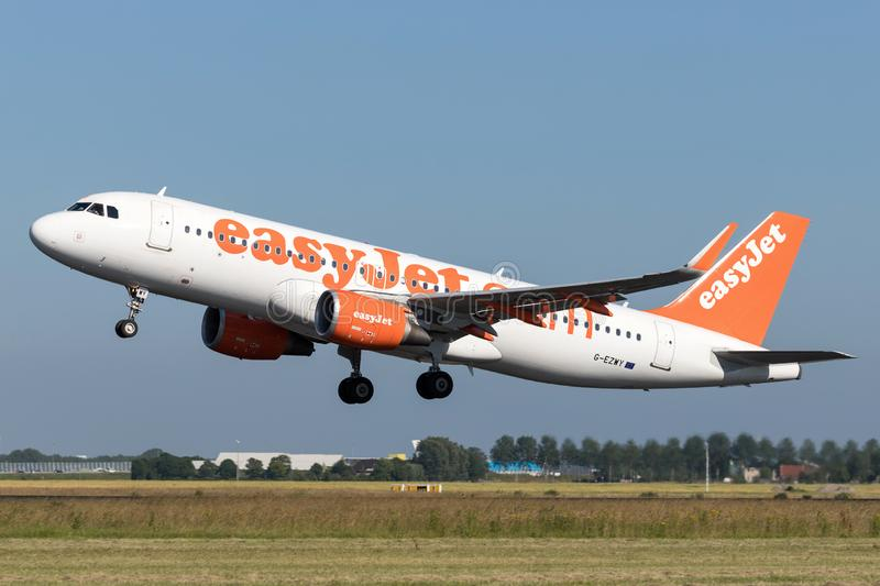 EasyJet Airbus A320-200 image stock