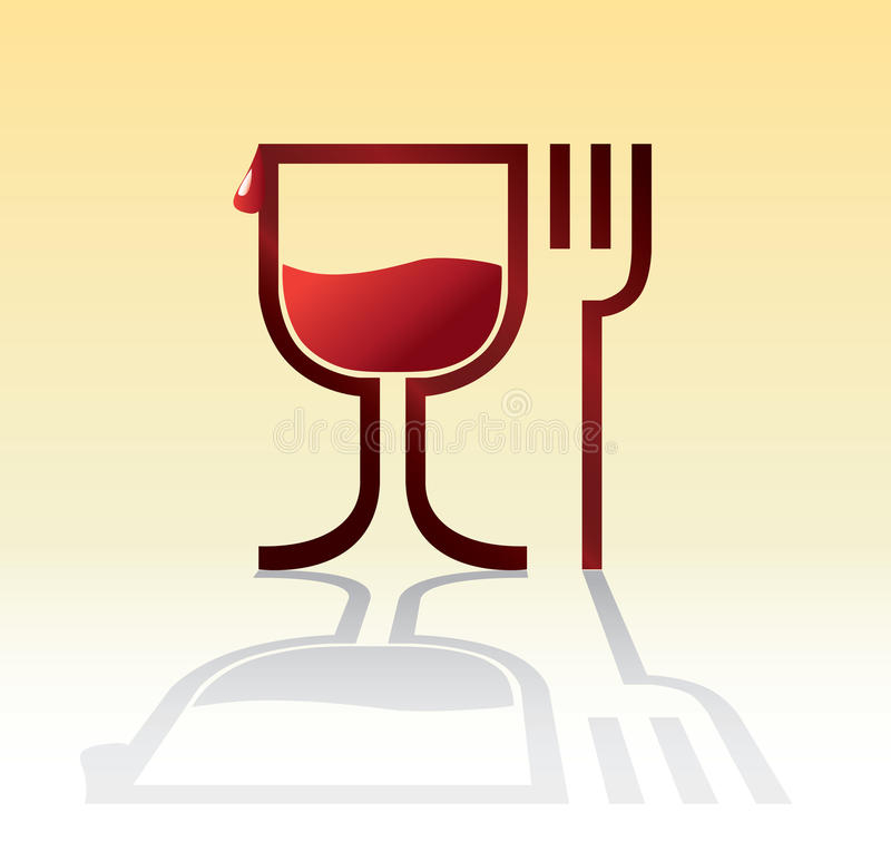 Eat Drink Symbol Stock Photography