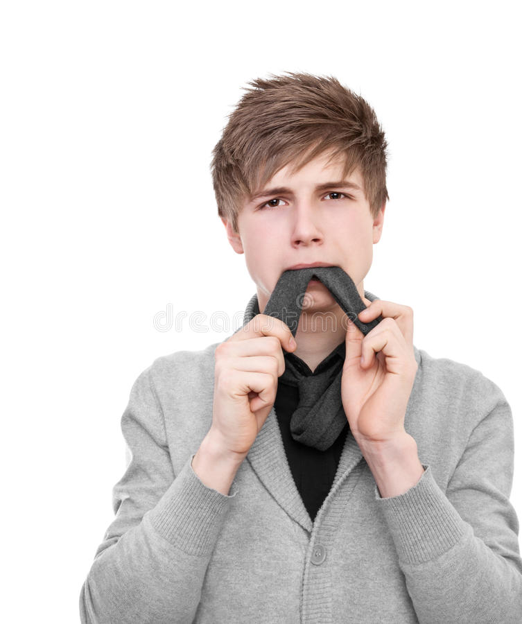 Eat A Tie stock images