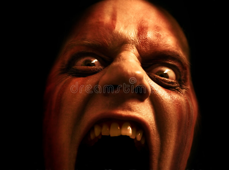 Download Eat your face stock image. Image of fright, dark, psycho - 2242963