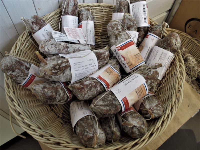 Eataly lager i Rome arkivbild