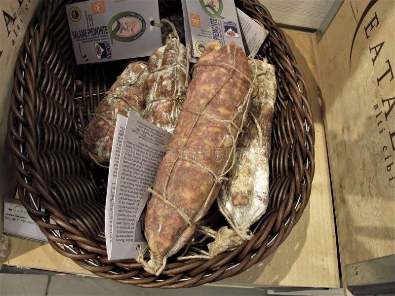 Eataly sklep w Rzym fotografia stock