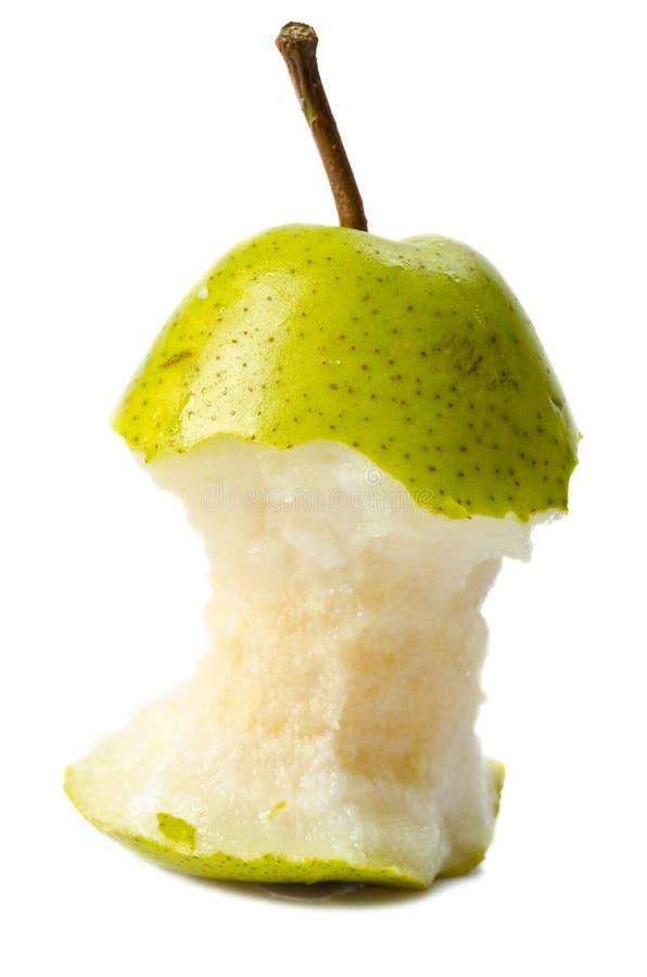 Free Eaten Pear Royalty Free Stock Photos - 23054638