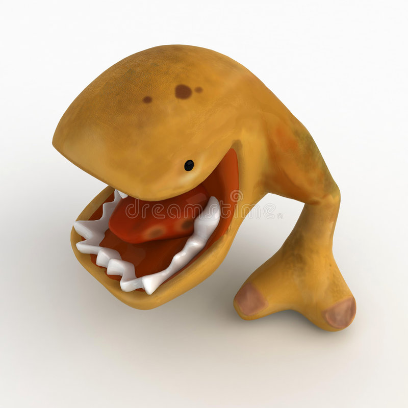 Download Eater, Mouth Open stock illustration. Image of creature - 6454518