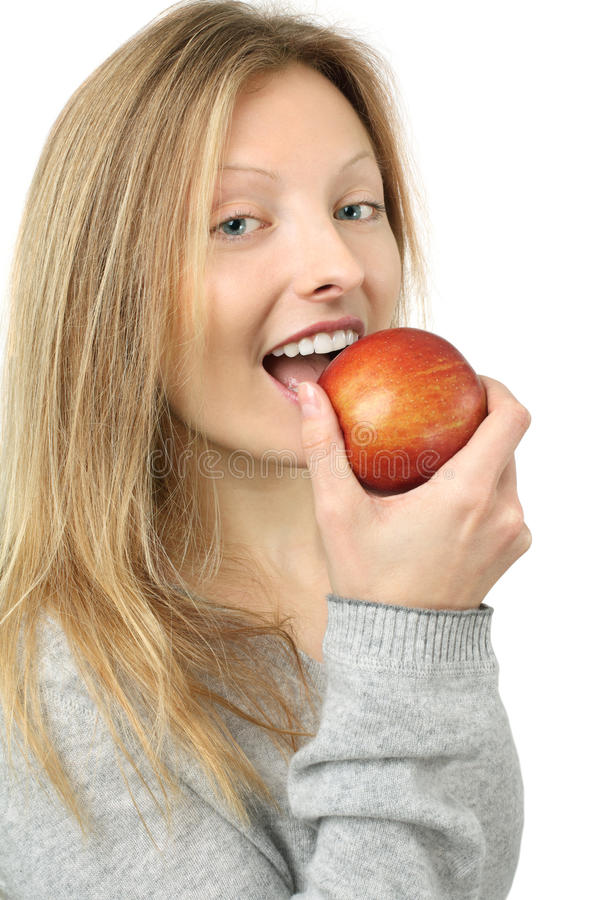Download Eating An Apple Stock Photography - Image: 18836672