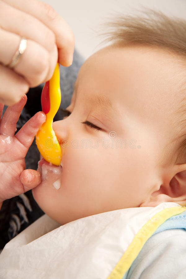 Download Eating Baby Stock Photo - Image: 23425640