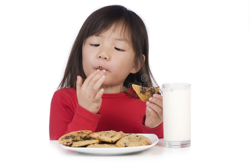 Download Eating Cookies Royalty Free Stock Image - Image: 8193776