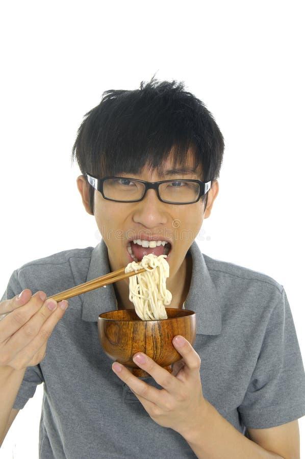 Eating food royalty free stock image