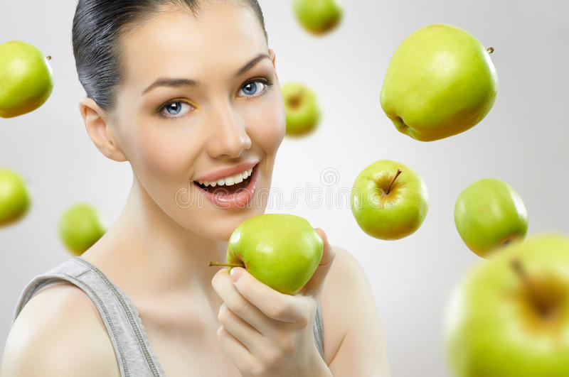 Download Eating Healthy Food Stock Image - Image: 17957401