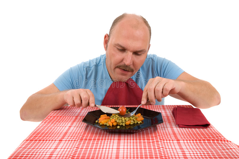 Download Only Eating It Because I Must Stock Photo - Image: 3312522