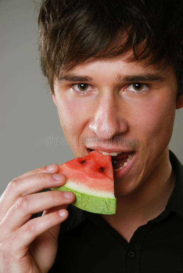 Download Eating Melon Stock Images - Image: 24257184