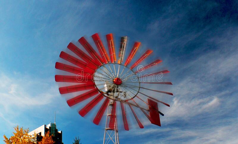 Eau Claire Windmill. stock images