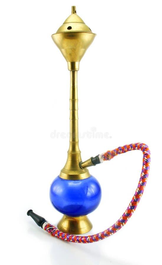 eau colorée de tabac de pipe de narguilé la petite photo libre de droits