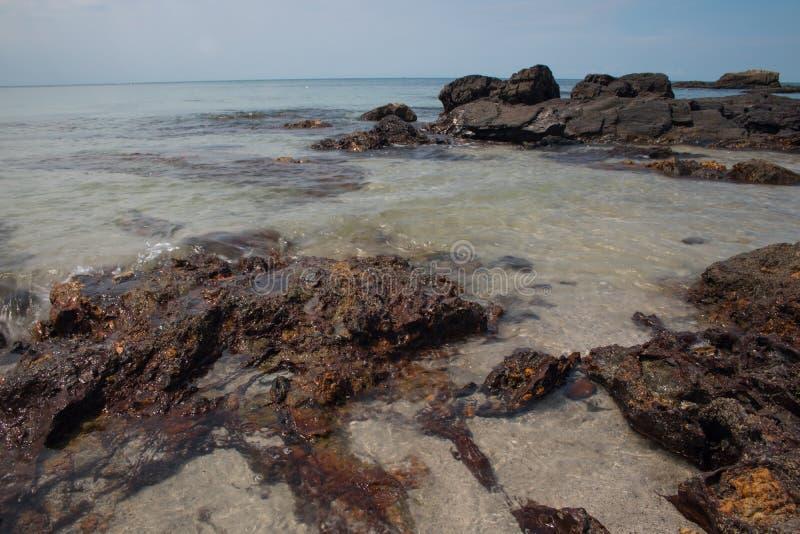 Eau de mer claire photo stock