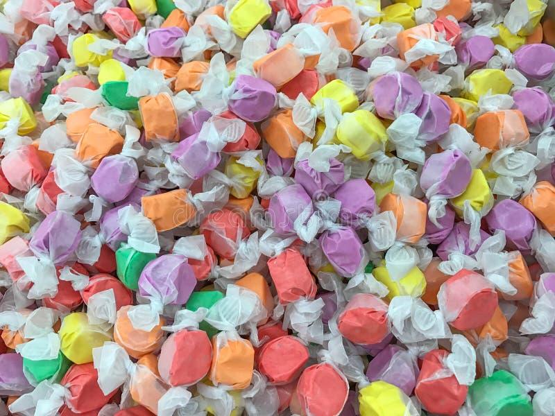 Eau de mer Taffy Candy Background image libre de droits