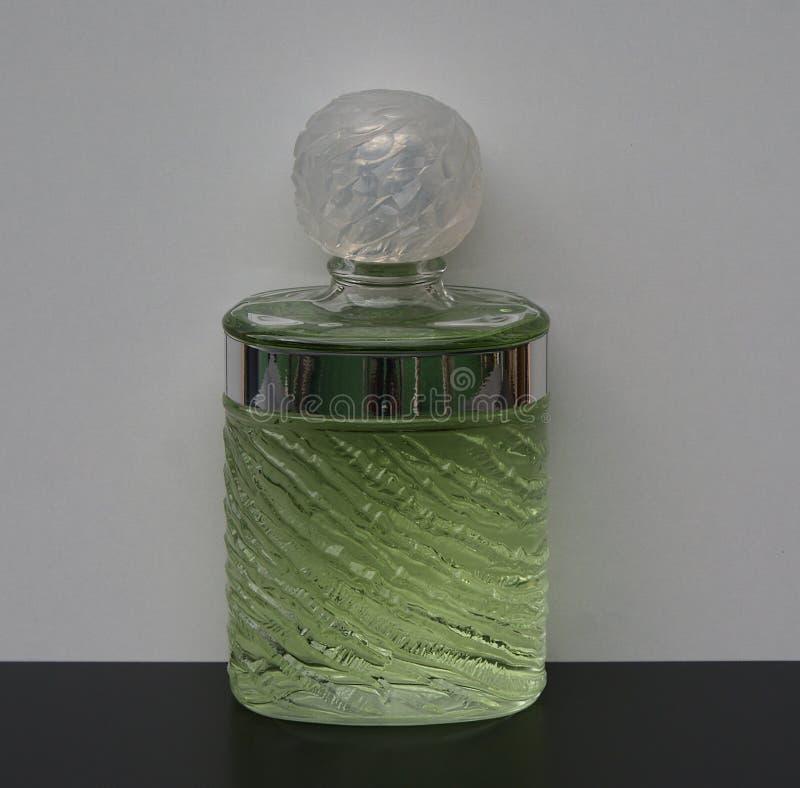 Eau De Rochas, woń dla dam, wielka pachnidło butelka zdjęcia stock