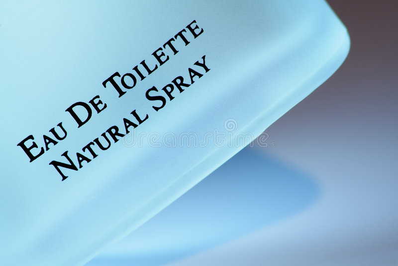 Eau DE Toilette royalty-vrije stock afbeelding
