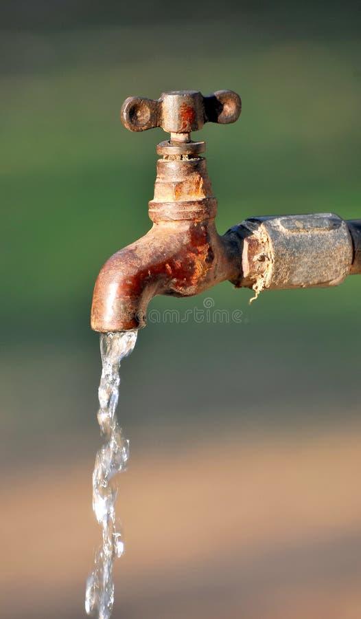 eau du robinet photo libre de droits