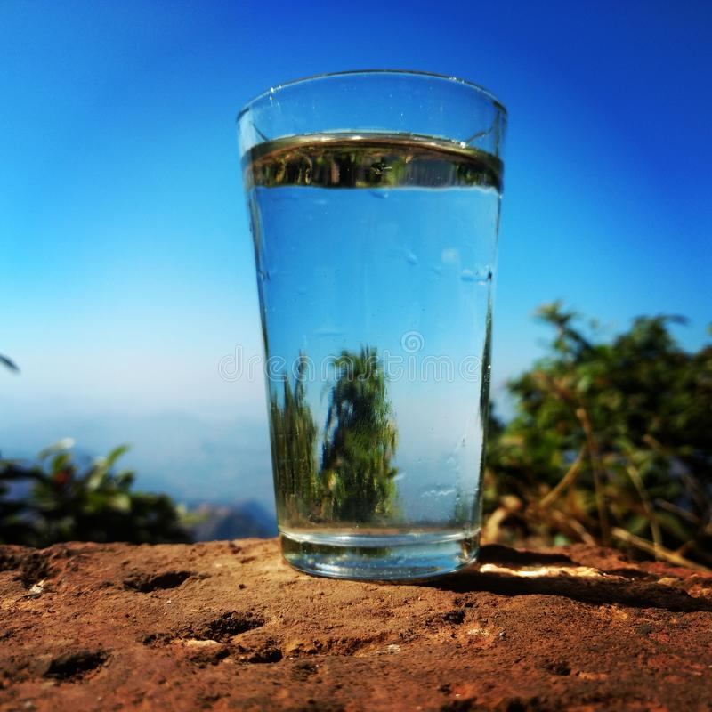 eau propre photo stock