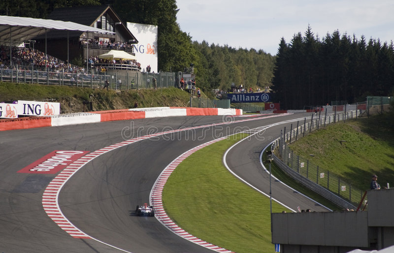 Eau Rouge Editorial Photography