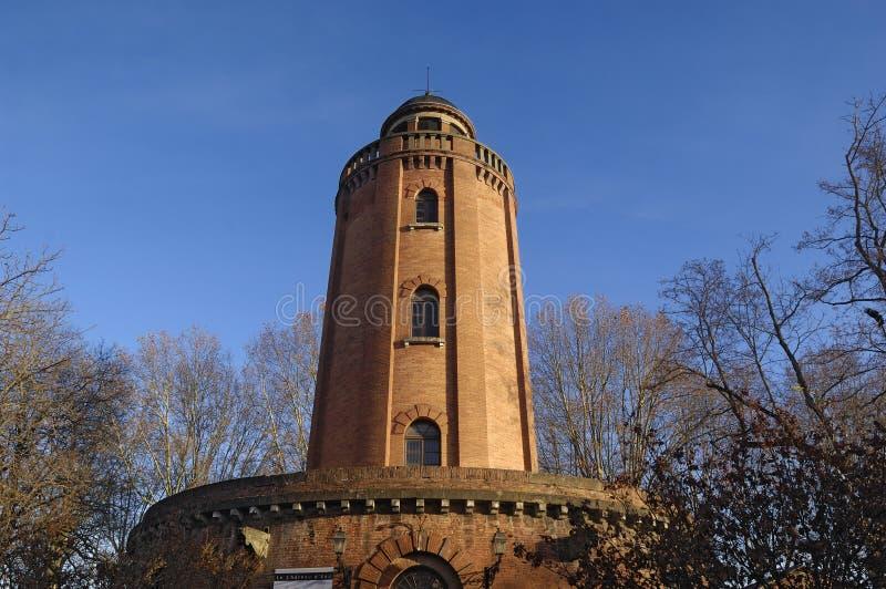 """""""eau"""" Schloss in Toulouse, stockbild"""